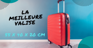valise cabine 55x40x20 cm