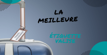 étiquette valise